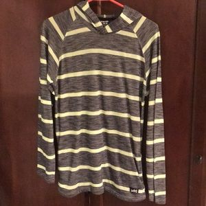 Boys striped hoodie size 14/16